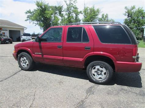 1998 chevrolet blazer hutchinson mn used cars for sale featuredcars com 2002 chevrolet blazer suv 4 door for sale 61 used cars from 998