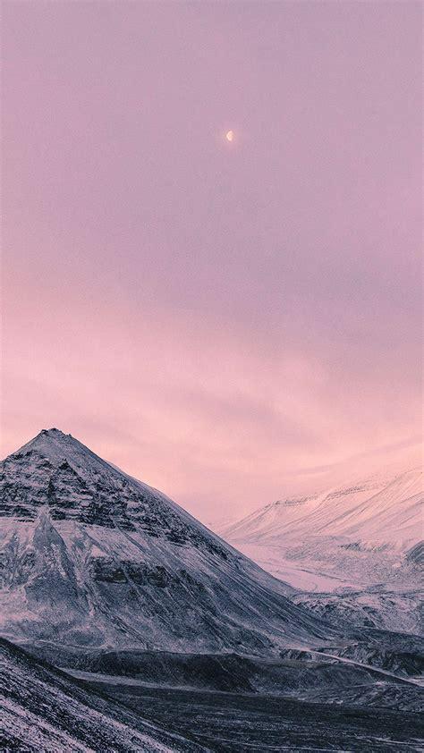 papersco iphone wallpaper nz snow winter moon