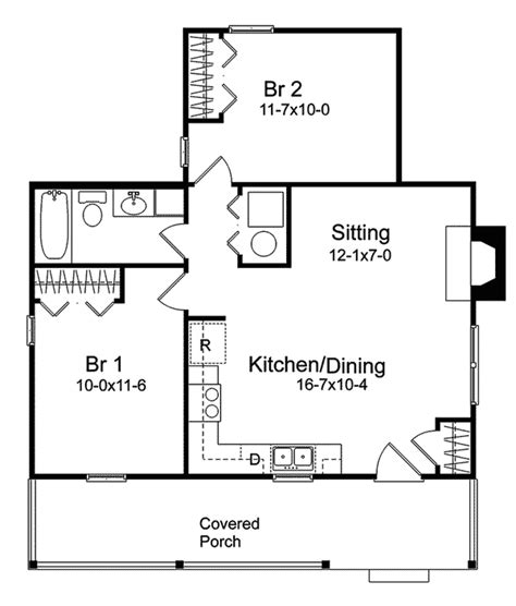 vacation home floor plans pinetrail vacation home plan 058d 0130 house plans and more