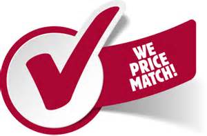 Images And Price Our Price Match Promise