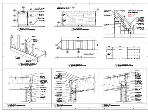 Free Architectural Plans Tiny House Plans Home Architectural Plans