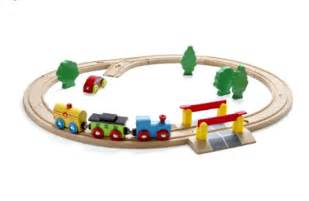 Train Set And Table For Toddlers - nuchi oval train set kid crave