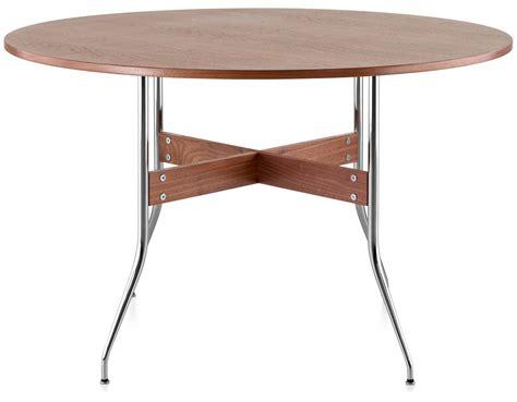 nelson swag leg desk nelson swag leg round dining hivemodern com