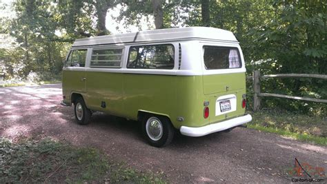 volkswagen bus 1970 vw cer 1970 early bay westfalia low light bay window van