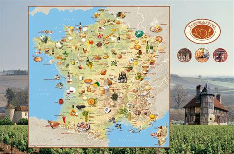cuisine du terroir fran軋is carte des sp 233 cialit 233 s de voyages cartes