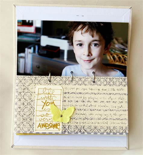 ali edwards tutorial ali edwards design inc blog 4x8 minibook i love you