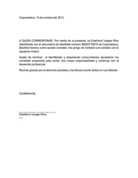 nuevos modelos de carta para solicitar trabajo en empresa carta para solicitar empleo