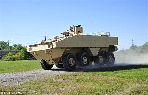 duck boat gun carrier lockheed martin reveals 7m hibious combat vehicle with