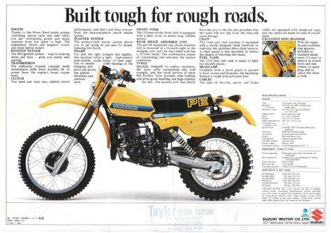 1977 Suzuki Pe 250 Suzuki Pe 250