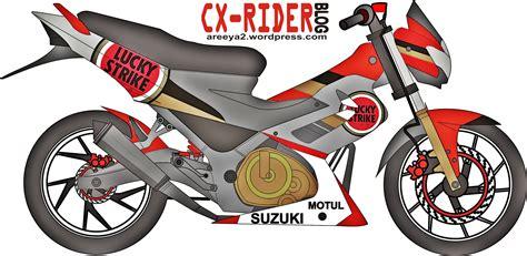 Lu Untuk Satria Fu new 150 sama dengan satria fu cxrider