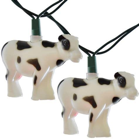 Cow Farm Animal String Lights Animal String Lights