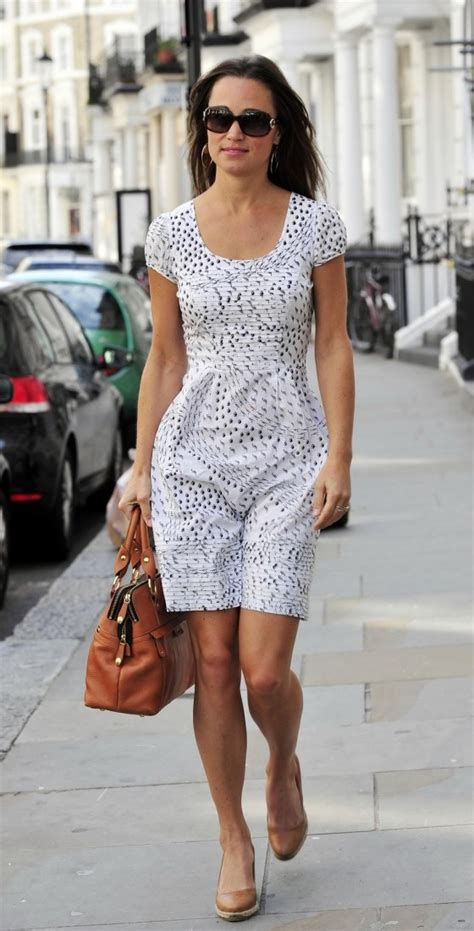 pippa middleton dress pippa middleton leggy in short dress out in notting hill