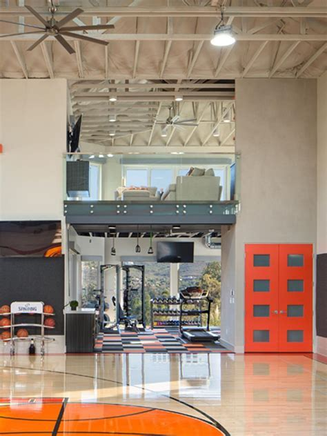 Private Indoor Basketball Court   HGTV Faces of Design   HGTV