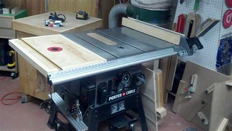table saw extension wing table saw extension wing router table w shop built lift