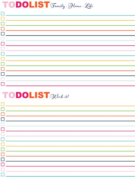 printable weekend to do list iheart organizing iheart a good to do list