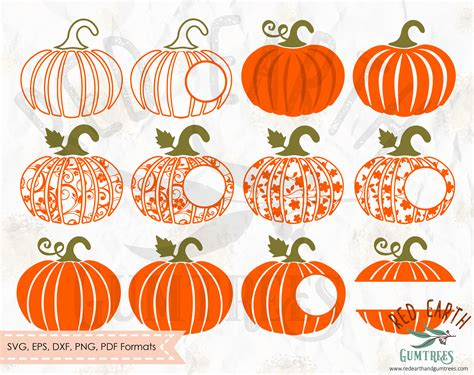 monogram pumpkin templates pumpkin collection floral pumpkin monogram