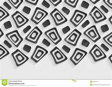 Geometric Patterns Card Template by Black And White Geometric Pattern Abstract Background