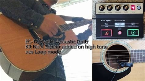 cajon and acoustic guitar ec 10m with cajon acoustic guitar youtube