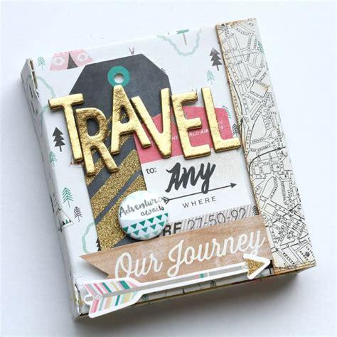 World Diy Photo Album Small Album Foto Kecil hello world 15 travel scrapbooking ideas for the globetrotter