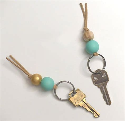 diy keychain dress up your with 20 diy keychains brit co