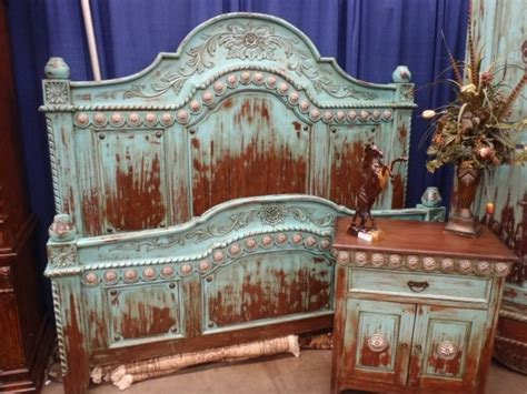 western style bedroom furniture headboard paint techniques furniture painting and redos