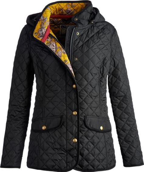 Joules Black Quilted Jacket by Joules Marcotte Quilt Jacket In Black Lyst