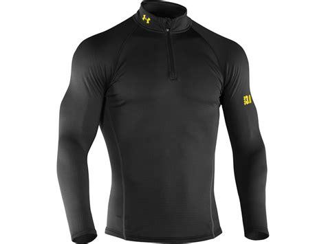 Baselayer Armour 2 armour s base 3 0 1 4 zip base layer shirt polyester black