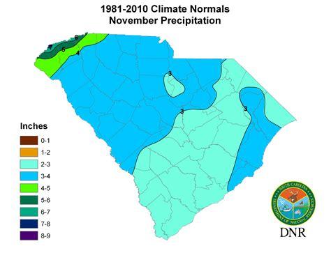 weather map of carolina south carolina state climatology office