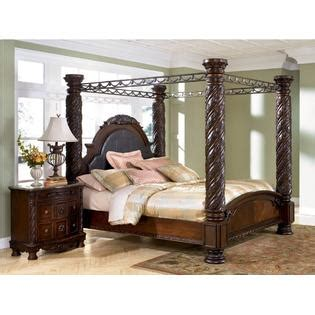 ashley north shore poster bedroom set ashley furniture north shore 4 piece bedroom set with king