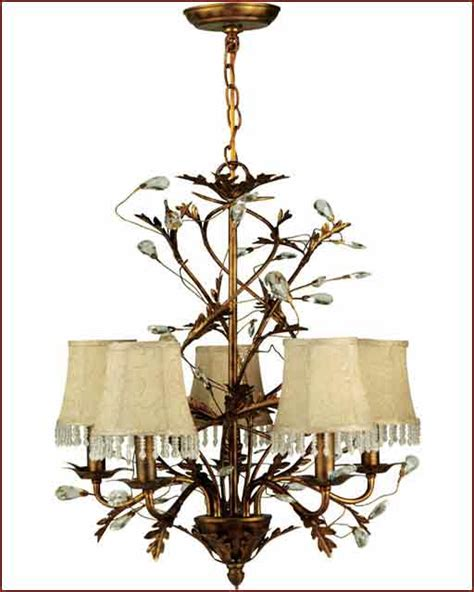 crystal prisms for ls lite source 5 lites chandelier wrought iron w prism