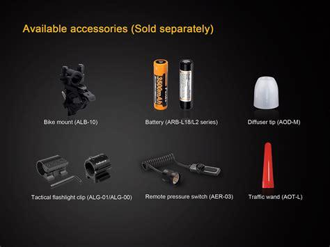 Fenix Tk25 Ir Led Flashlight Cree Xp G2 S3 850nm Ir 1000 Lumens fenix tk25 ir infrared led flashlight