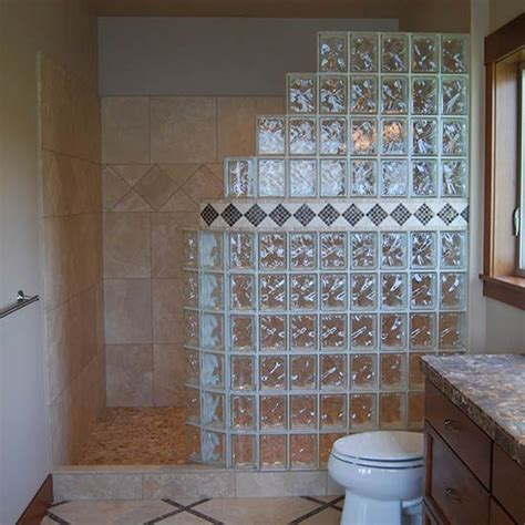 colored shower colored glass block shower glass blocks in st louis
