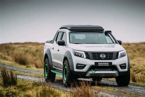 nissan navara nissan navara enguard concept previews tomorrow s rescue