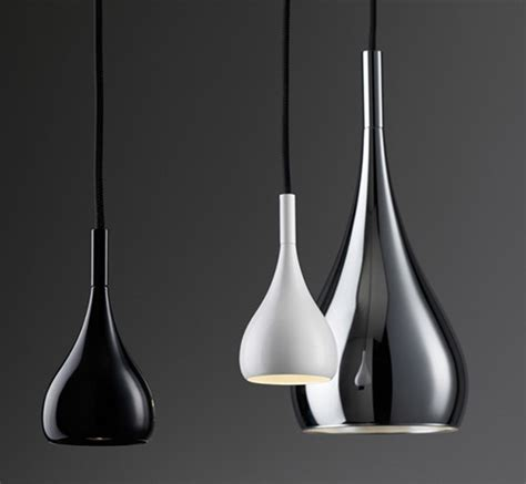 black stainless steel pendant lights pendant lights by fabbian