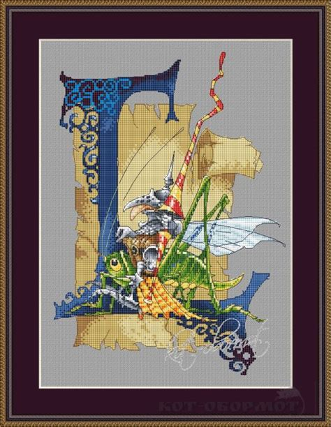 Painting Cross Stitch Ter Murah 19 gallery ru 58 for lena lawson kot obormot punto cross stitch