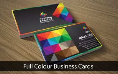 digital printing business card template color digital business cards image collections card