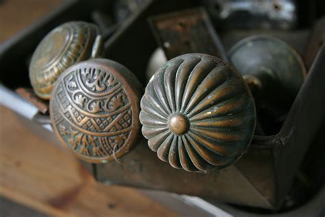 Antiques Door Knobs by Nessy Designs Vintage Door Knobs