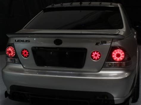 lexus is300 lights lexus is300 2001 2005 smoked led lights and trunk