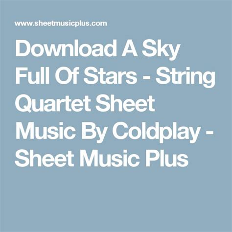 download mp3 free coldplay a sky full of stars 15 best partes bodas images on pinterest bodas sheet