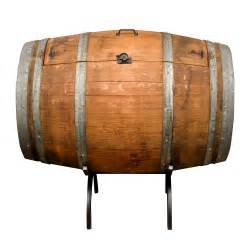 Outdoor Entertainment Furniture - wine barrel ice chest is perfect for indoor or ourdoor entertaining