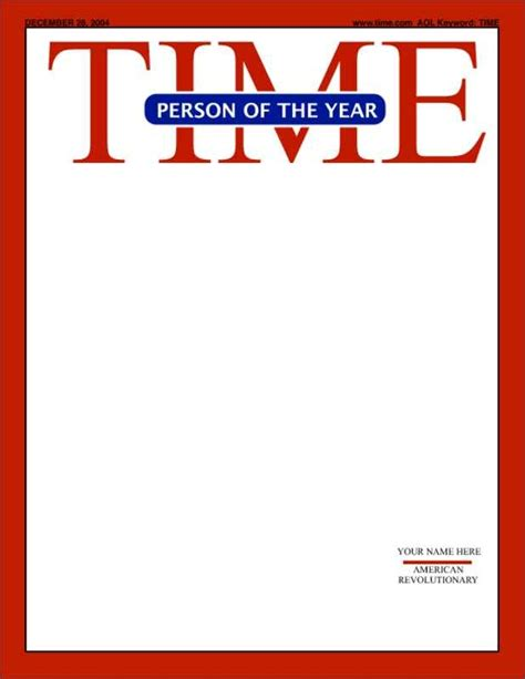 Time Magazine Template Time Magazine Template Peerpex