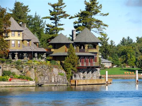 thousand islands thousand islands new york state places the road has