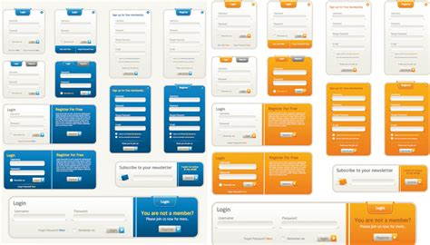 web form design templates images