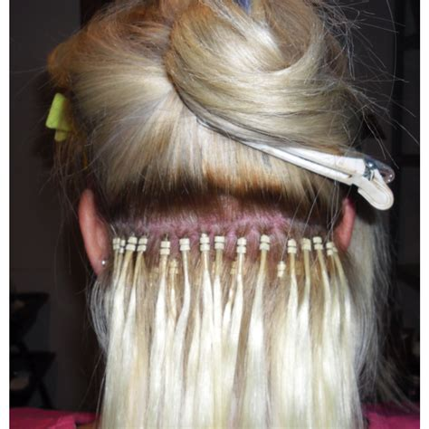 micro bead extensions itchy 20 inch easy loop cuticle hair micro bead hair