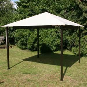 garten pavilion pavillon 3x3m metall wasserdicht ebay