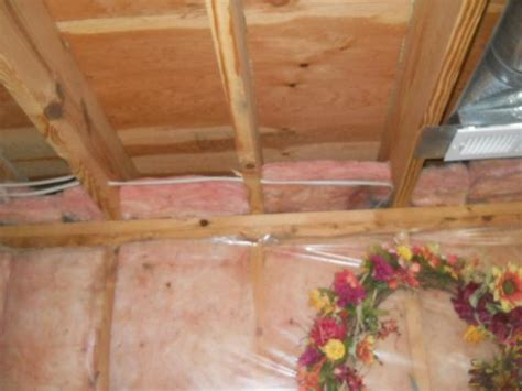 insulating joists in basement dr energy saver st louis air sealing packages before and after photos