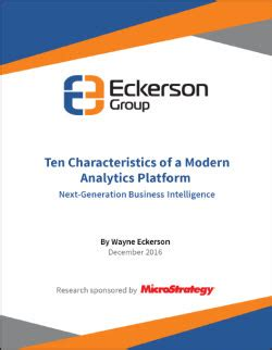 Characteristics Of Modern Media Technology by Ten Characteristics Of A Modern Analytics Platform