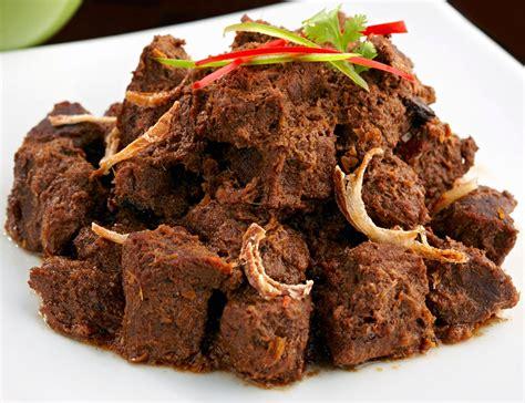 rendang padang   delicious food   world