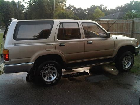 1995 Toyota Forerunner Deangelo20 1995 Toyota 4runner Specs Photos Modification