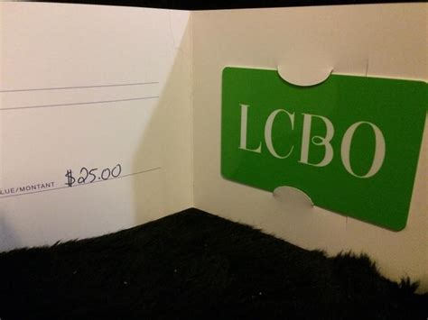 Lcbo Gift Card - lcbo gift card 25 up for bids at quot gloucester rangers
